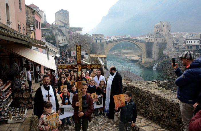 Litija kroz Mostar