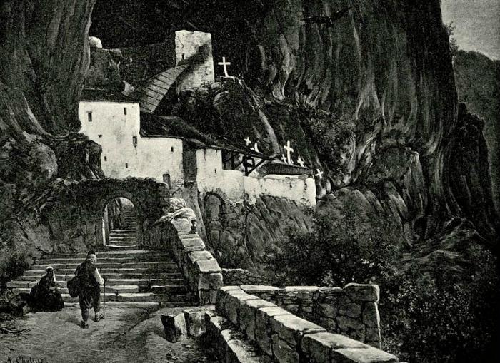 Острог крајем XIX вијека
