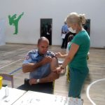 Polovina policajaca vakcinisana